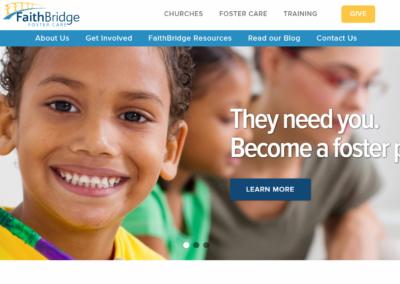 FaithBridge Foster Care's New Website