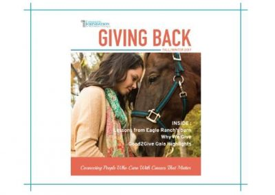 Giving Back Report