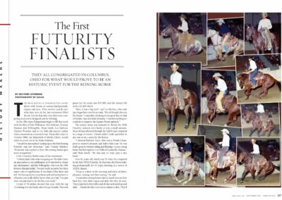 NRHA Reiner Feature Story
